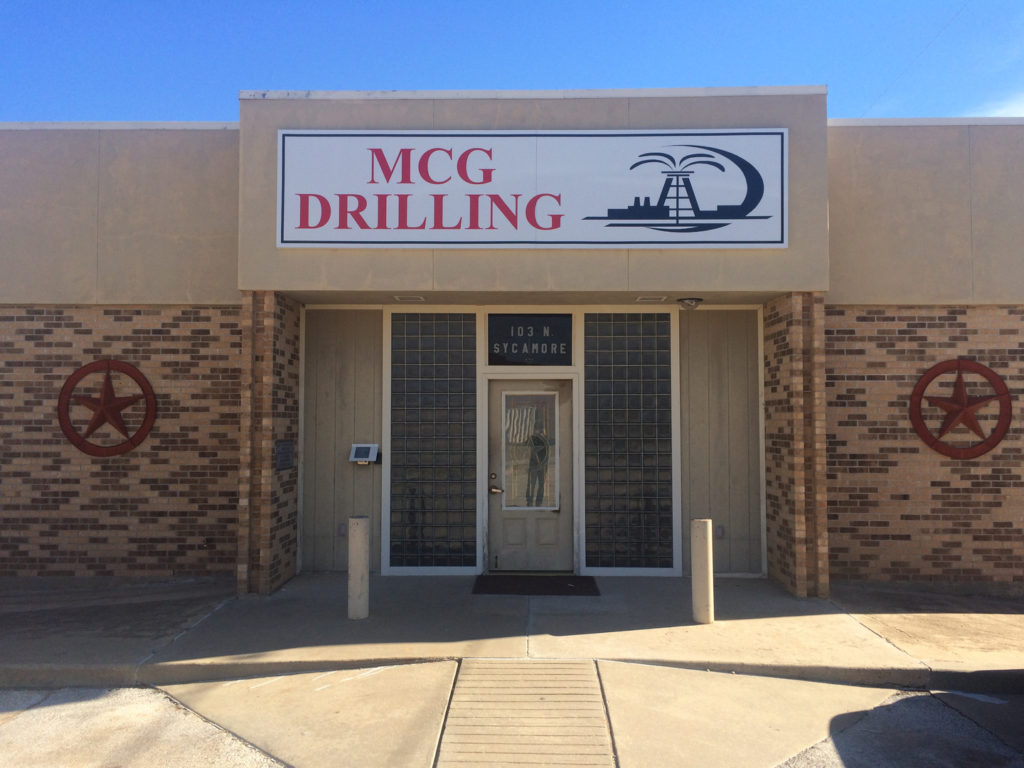MCG Drilling and Completing office location in Archer City, Texas.